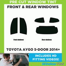 Pre Cut Window Tint - Toyota Aygo 5-door Hatchback 2014+ - Full Kit