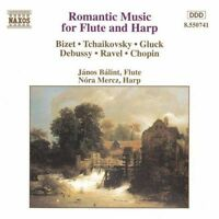 Romantic Music for Flute and Harp, , Good CD
