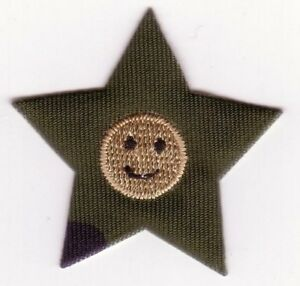 Camouflage Étoile Broderie Patch