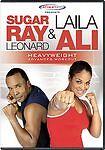 Sugar Ray Leonard  Laila Ali - Heavyweight Advanced Workout (DVD,) New!
