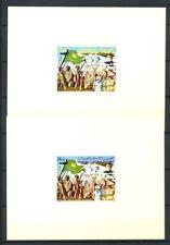 Mauritania 1980 Mi. 678-679 Foglietto 100% Foglietto di lusso ** Fete