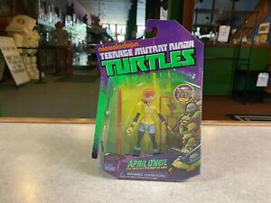 Teenage Mutant Ninja Turtles Nickelodeon 2012 NIP New - APRIL O'NEIL Loyal Ally
