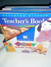Teachers Book Set 5 Invitation to Literacy Level K Houghton Mifflin