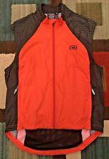 IllimiNITE Reflective Wear Cycling/Running Vest, Men's M, Orange/Black, EUC