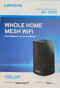 Linksys Velop Whole Home Mesh Dual-Band WiFi 5 Router AC 1200 - NEW SEALED!