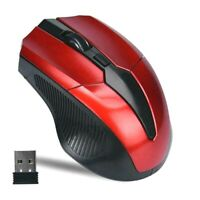 Portable 319 2.4Ghz Wireless Mouse Adjustable 1200 Optical Gaming Mice for PC
