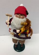 Byers Choice~ The Carolers~ Santa Toy Maker 1995