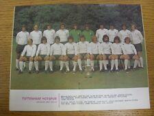 1973/1974 Football League Review: Vol 8 No 15 - Colour Picture - Tottenham Hotsp