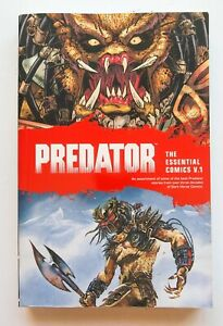 Predator The Essential Comics V. 1 Dark Horse Graphic Novel Comic Book
