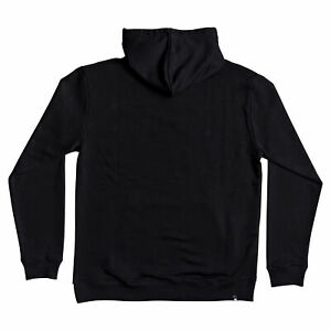 DC NEW Men's Square Star Hoodie - Black / Chili Pepper BNWT