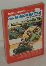 Armor Battle Mattel (Intellivision, 1979), New, shrink-wrapped, INTV