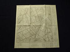 Landkarte Meßtischblatt 1982 Thiergart / Zwierzno, Danzig-Westpreußen, 1940