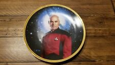 Star Trek The Next Generation Plate Commander Riker And Captain Jean-Luc Picard