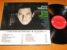 """LOT of 2 MONO ANDY WILLIAMS LPs - """"LOVE CANDY"""" & """"IN THE ARMS OF LOVE"""""""