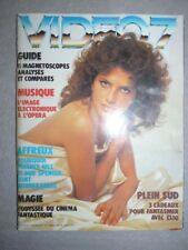 Magazine revue VIDEO 7 #16 décembre 1982 Clio Goldsmith