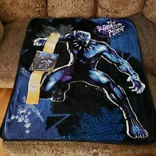 "Marvel Black Panther 'Warrior King' Soft Throw 40""x50"""