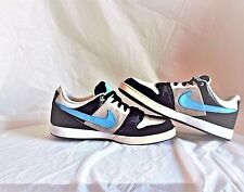 9599070aa6eb89 RARE Nike 6.0 Air Zoom Shoes Black White Turquoise size 10.5