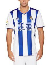 Camiseta Adidas Real sociedad oficial 2016/17 azul blanco S