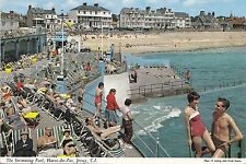 BF25071 the swiming pool havre des p  jersey c i united kingdom front/back image