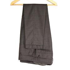 🔥 BRUNELLO CUCINELLI 🔥 Women 100% Virgin Wool Gray Pencil Pants 38/US 8/UK 10