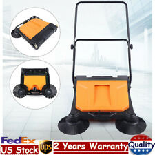 26 Industrial Hand Push Sweeping Sweeper Floor Cleaner Cleaning Machine 15l Us