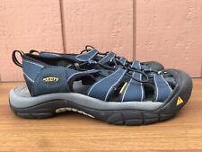 EUC Keen Newport H2 Men US 9.5 Blue Waterproof Beach Hiking Water Sandals C8