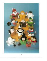 JEAN GREENHOWE KNITTING PATTERN FOR 12 TINY TOYS - CHRISTMAS STOCKING FILLERS