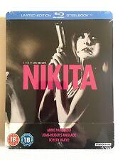 NEW La Femme Nikita Bluray Steelbook Limited Edition Besson Parillaud Blu-ray