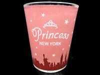 Princess New York Pink City Scape Standard Shot Glass Collectible Barware