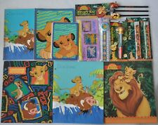 New Disney The Lion King School Supplies, Pens, Pencils, Notebooks, Study Kit .