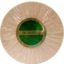 "3M Clear 1522 1"" X 36 Yds. Medical Tape Roll Hairpiece Wig Toupee Hair"