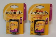 Kodak Advantix 200 - Color print film Aps Iso 25 exposures 2 Rolls Exp 11/2003