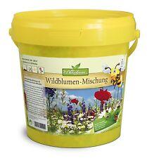 Wildblumen Mischung 100-200 m² Bienenweide Schmetterlingswiese Blumenmischung