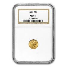 $1 Liberty Head Gold Type 1 MS-61 NGC/PCGS - SKU #22172