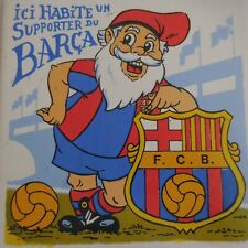 Carré carrelage supporter Football Club Barcelone sport collection Espagne N5482