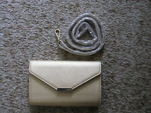 Chic Purse with Easy Cell Phone Touch Access by Lori Greiner, Gold