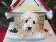 Goldendoodle ~ Doghouse Ornament ~ #125