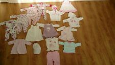 NEXT ONLY Baby Girls Christmas Bundle Dress Jumper Age 0-3 Months sets 17 items
