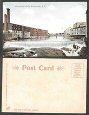 Old Rhode Island Postcard - Woonsocket Falls - Metro News #7744