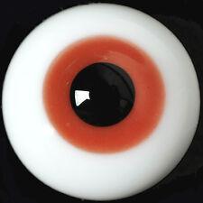 Gorgeous 18mm Brown Glass BJD Eyes for Reborn/NewBorn BJD Dollfie