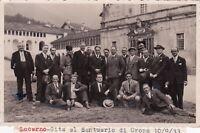 SVIZZERA - Locarno - Santuario Oropa 1933 - Mutilati di Guerra - Foto Cartolina