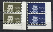 (53772) Ireland MNH Pairs Kevin Barry 1970
