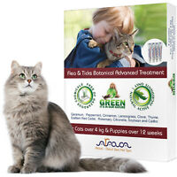 Natural Flea and Tick Prevention Control for Cats Puppies, Arava
