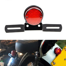 Custom Motorbike ATV Cafe Racer Tail Brake Stop Lights License Plate Bracket USA