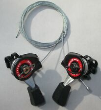 Sunrace Falcon Top Mount Friction Bicycle Lever Shifter Set Cables Included New