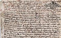 1687 Comté de Bourgogne Bussy-le-Grand BONY LEFEBURE VALY conseiller du Roi