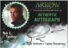 Arrow Season 3 Auto Autograph Card Nick E. Tarabay Capt. Boomerang NET