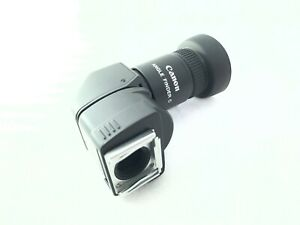 <NEAR MINT+++> Canon Angle Finder C 1.25x 2.5x For EOS w/Adapter Ec-C Japan 2408