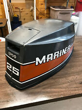 1984 Mariner 25 HP Outboard Hood Top Cowl Cowling Shroud Freshwater MN