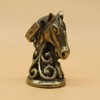 "Brass Vintage ""Horse"" Bell Keychains Pendant Keyrings Bell Key Pendant Key Chain"